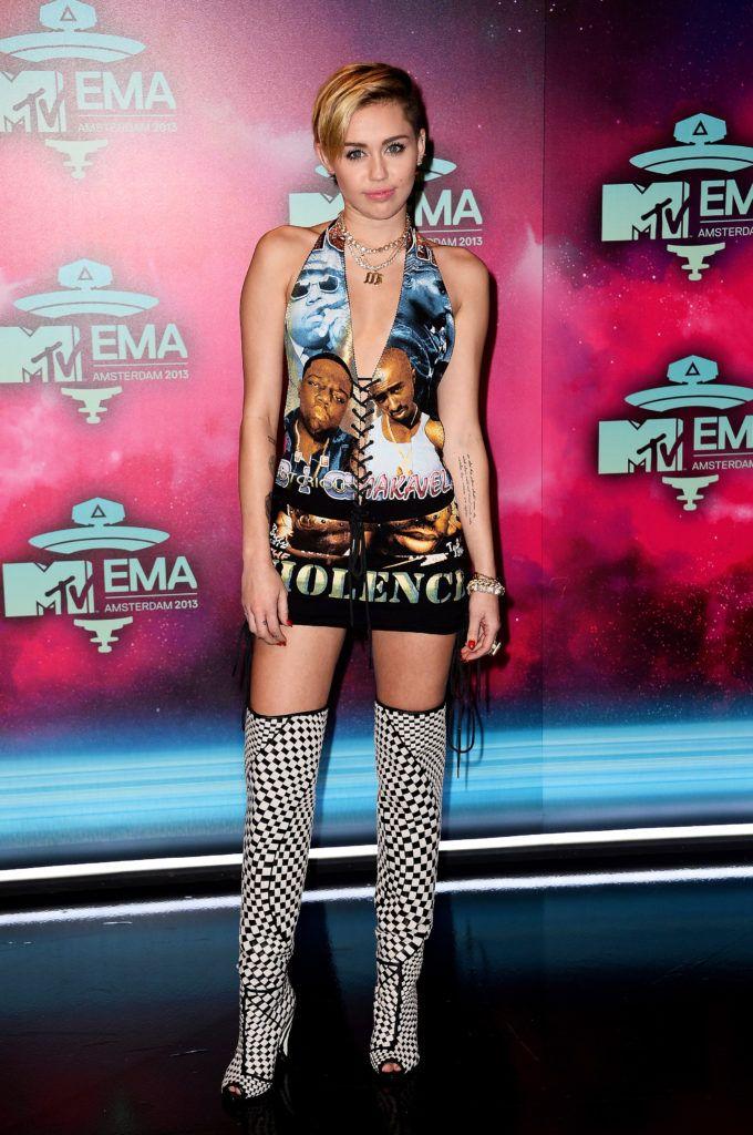 Miley Cyrus, Ema Awards Amsterdam, 2013
