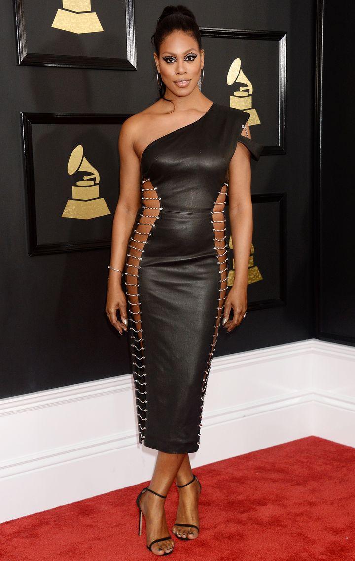 Laverne Cox, Grammy Awards, 2017