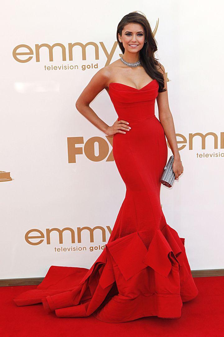 Nina Dobrev, Emmy Awards, 2011