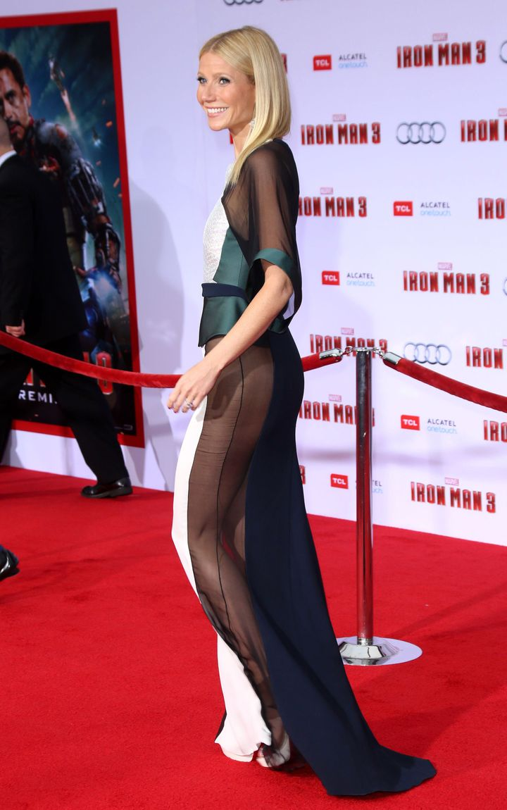 Gwyneth Paltrow, Premiere of Iron Man 3, 2013