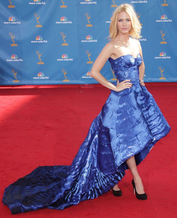 January Jones, Emmy Awards, 2010