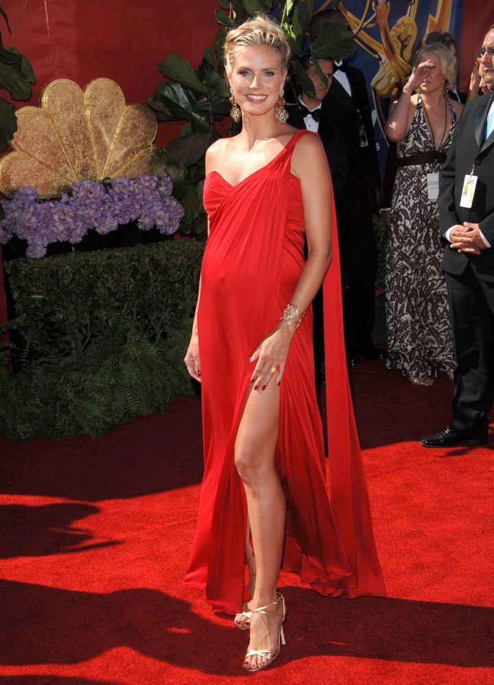 Heidi Klum, Emmy Awards, 2006