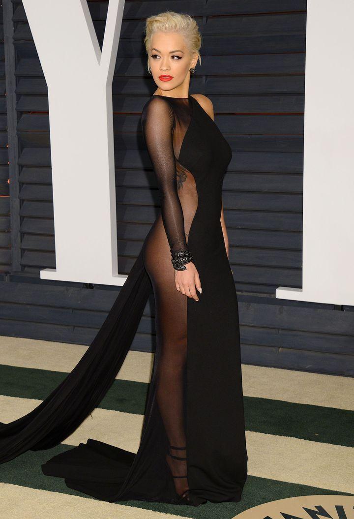 Rita Ora, Vanity Fair Post Oscars Party, 2015