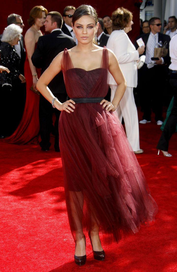Mila Kunis, Emmy Awards, 2009