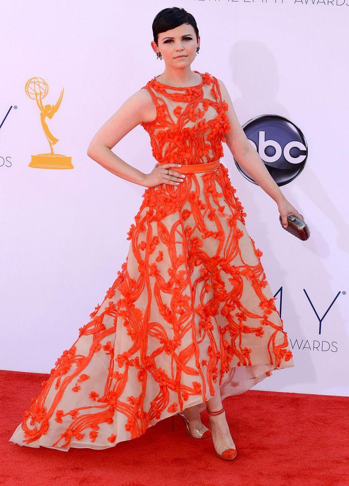 Ginnifer Goodwin, Emmy Awards, 2012