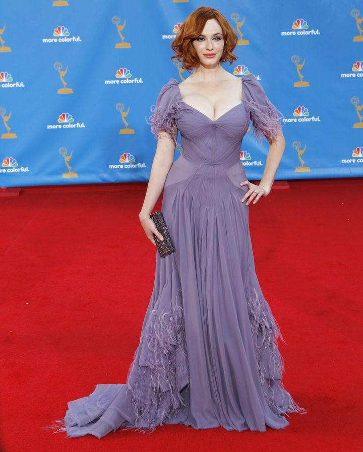 Christina Hendricks, Emmy Awards, 2010