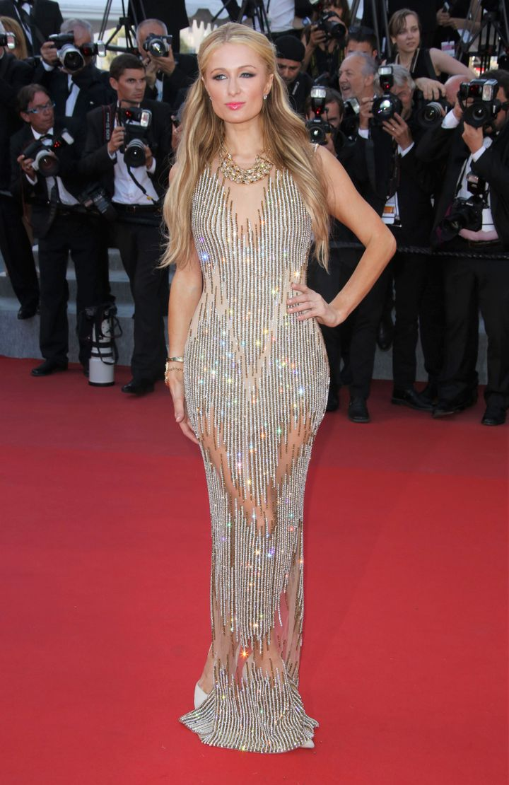 Paris Hilton, Cannes Film Festival, 2015